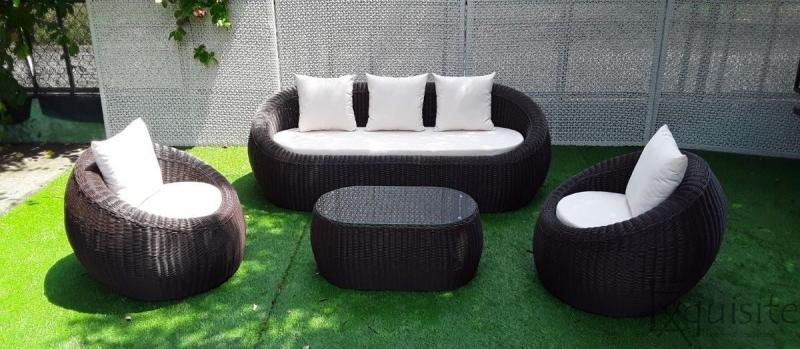 Set canapea din ratan artificial 1
