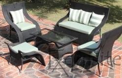 Canapea cu fotolii pentru gradina1