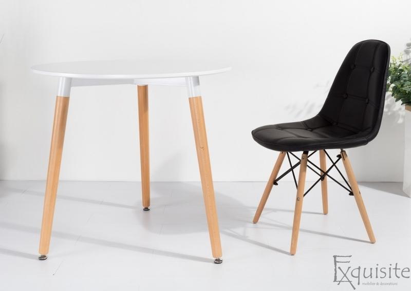 Masa pentru bucatarie din MDF alb2