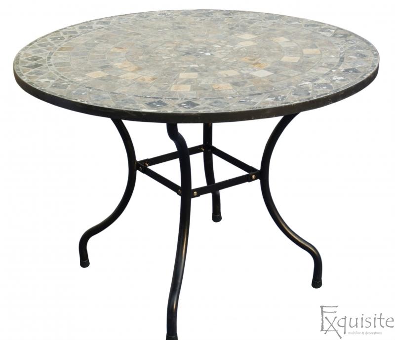 Masa cu mozaic, rotunda, 100cm 1