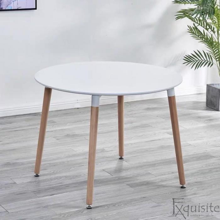 Masa rotunda de bucatarie din MDF, 100 cm, EX10202