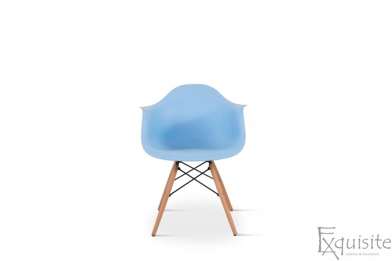 Masa rotunda din MDF cu 4 scaune pentru bucatarie / living10