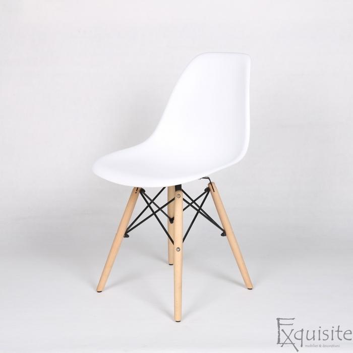 Masa rotunda din MDF 100cm cu 4 scaune pentru bucatarie5