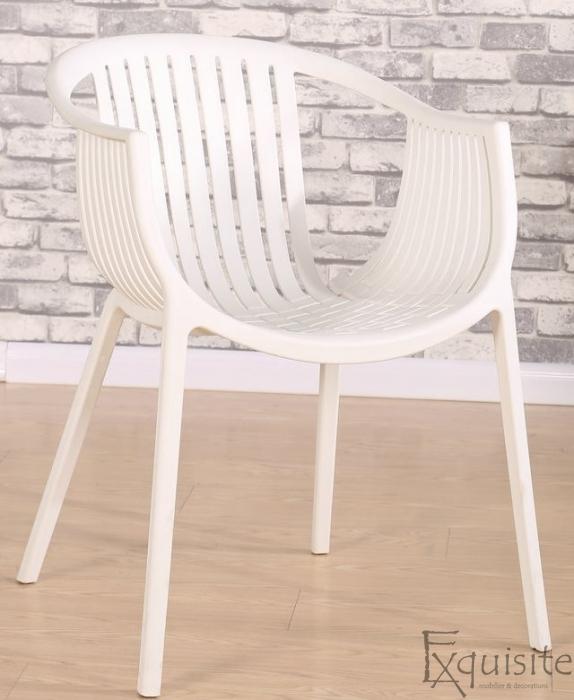 Masa rotunda din MDF 80 x 73cm cu 4 scaune tip Luigi4