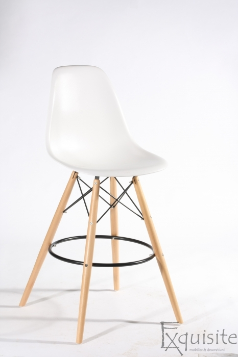 Scaun de bar Exquisite, design Eames, 9 culori disponibil3