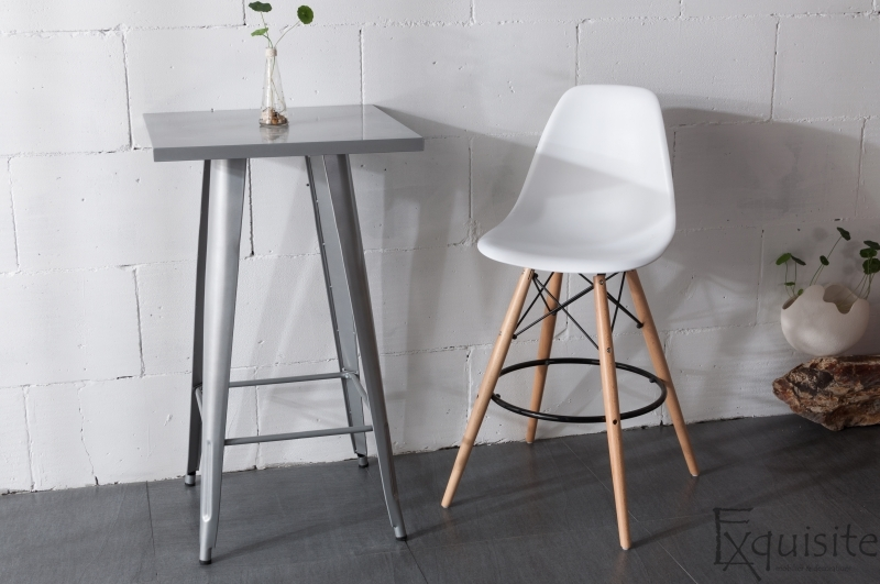 Scaun de bar Exquisite, design Eames, 9 culori disponibil4