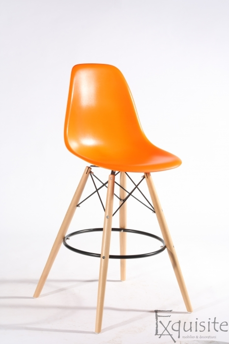 Scaun de bar Exquisite, design Eames, 9 culori disponibil7