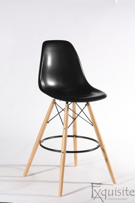 Scaun de bar Exquisite, design Eames, 9 culori disponibil5
