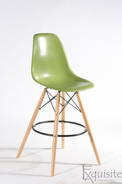 Scaun de bar Exquisite, design Eames, 9 culori disponibil9