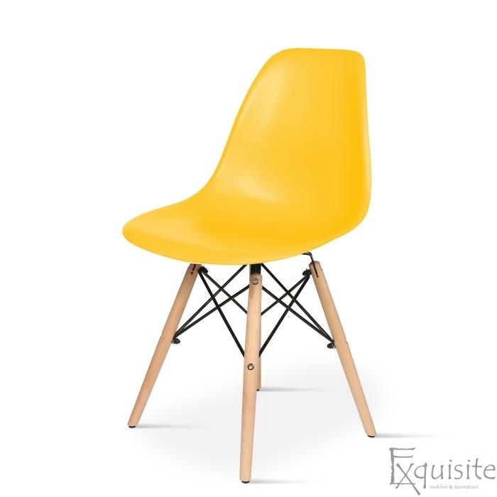 Scaun de bucatarie design Eames EX071, scaune colorate1