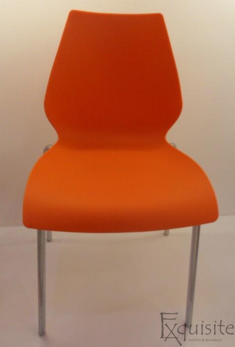 Scaun de bucatarie Elisa, scaun din plastic 5