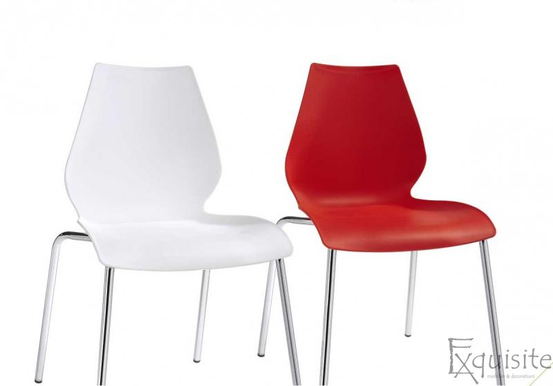 Scaun de bucatarie Elisa, scaun din plastic 6