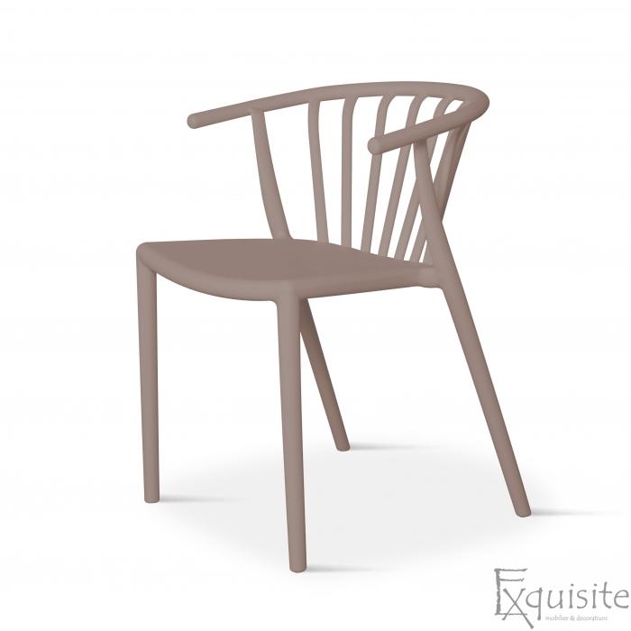 Scaun din plastic pentru terasa, stivuibil, Countryside, EX0961