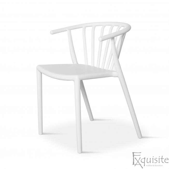 Scaun din plastic pentru terasa, stivuibil, Countryside, EX0962