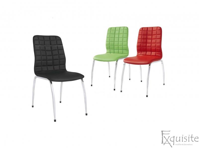 Scaun din piele ecologica, scaun de bucatarie Exquisite1