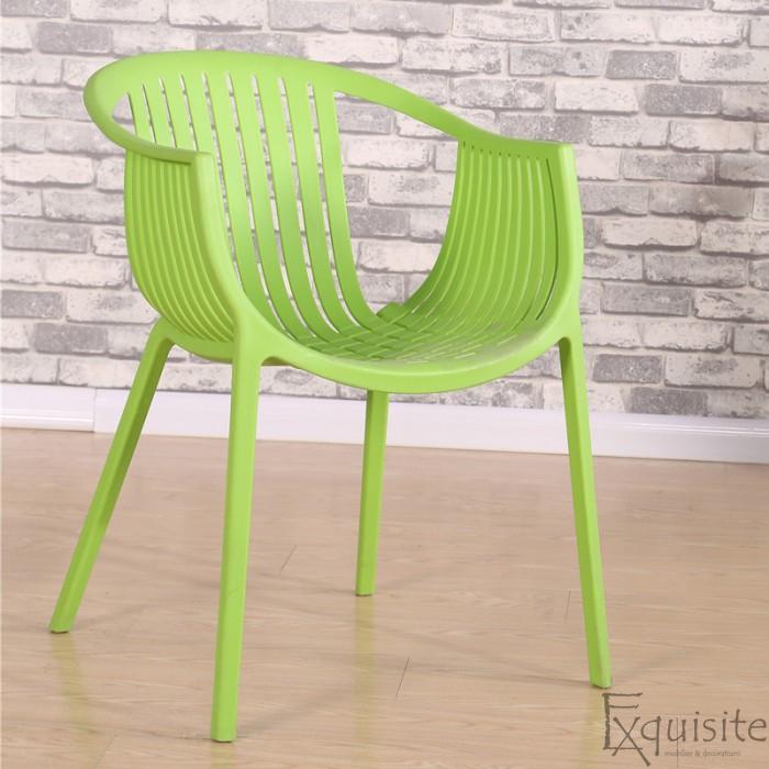 Scaun pentru terasa, modern, plastic, design Luigi, diverse culori3