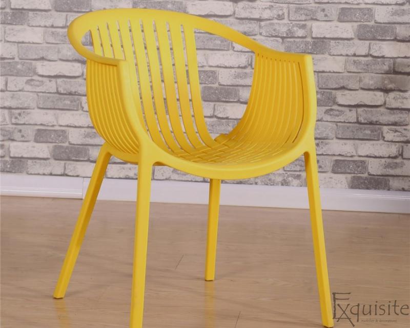 Scaun pentru terasa, modern, plastic, design Luigi, diverse culori1