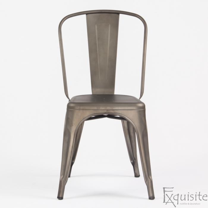 Scaun din metal pentru terasa 5