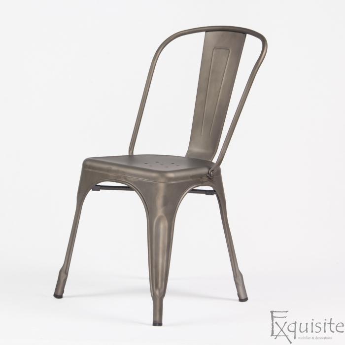 Scaun din metal pentru terasa 2