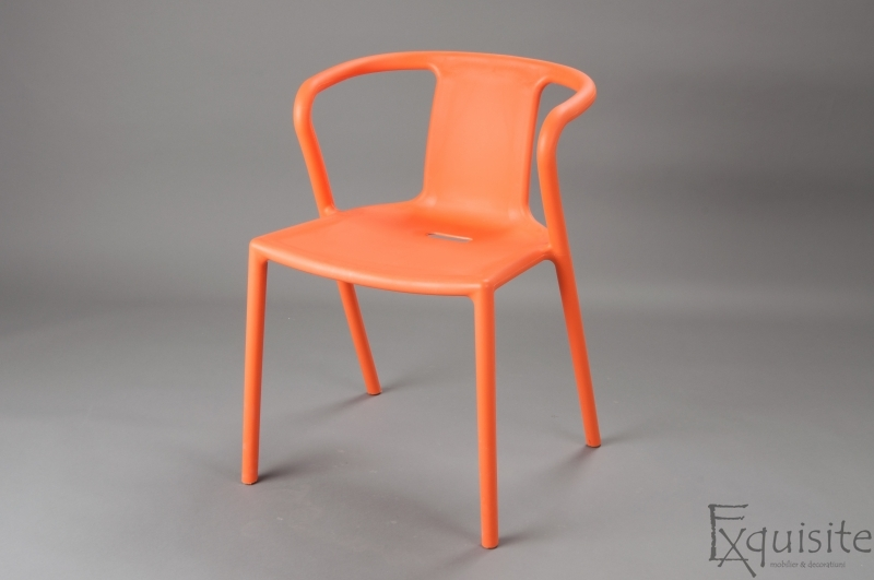 Scaun modern pentru terasa din plastic, Exquisite, diverse culori3