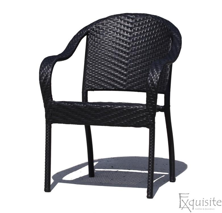 Scaun terasa din ratan artificial1