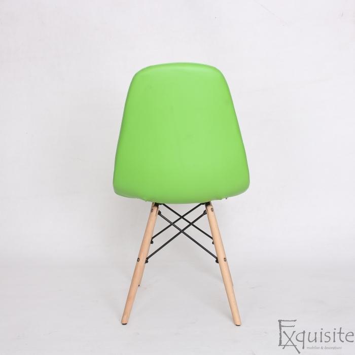 Scaun verde din piele artificiala, Set 2 bucati4