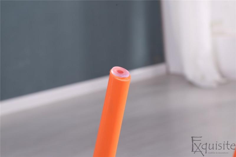 Scaun de bucatarie din plastic, Exquisite, rosu. galben, alb7
