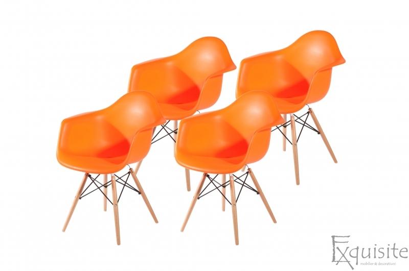 Scaune de bucatarie, Set 4 scaune, diverse culori5
