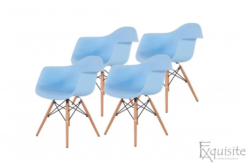 Scaune de bucatarie, Set 4 scaune, diverse culori7