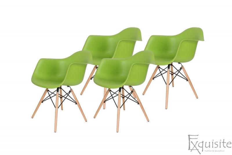 Scaune de bucatarie, Set 4 scaune, diverse culori4