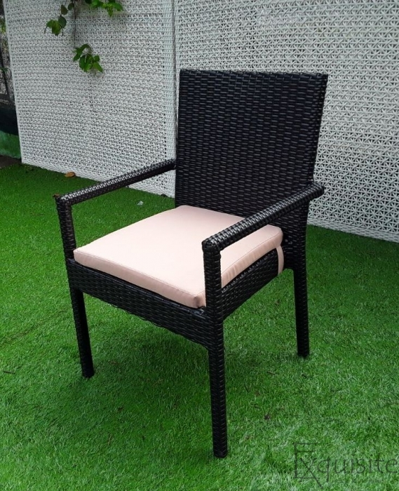 Masa cu scaune pentru terasa, ratan sintetic4