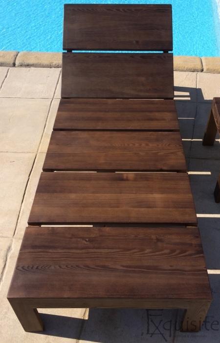Sezlong din lemn pentru piscina4