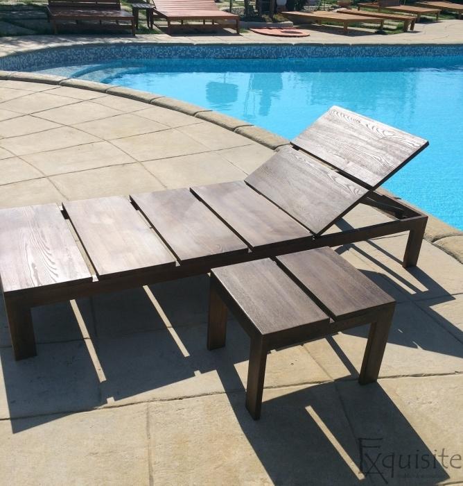 Sezlong din lemn pentru piscina2
