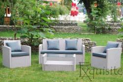 Canapea cu fotolii pentru terasa