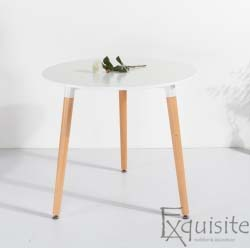 Masa pentru bucatarie din MDF alb