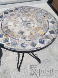 Masa cafenea din mozaic