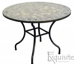 Masa cu mozaic montat manual