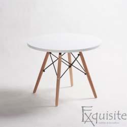 Masuta pentru cafea  / masuta pentru copii din MDF, Exquisite, diametru 60cm, EX1013
