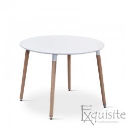 Masa rotunda de bucatarie din MDF, 100 cm, EX1020