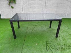 Masa pentru terasa din ratan artificial