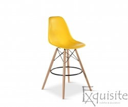 Scaun de bar Exquisite, design Eames, 9 culori disponibil