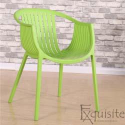 Scaun pentru terasa, modern, plastic, design Luigi, diverse culori