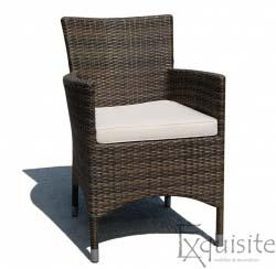 Scaun din ratan artificial pentru terasa