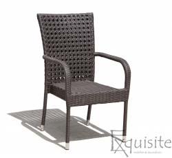 Scaun din ratan pentru terasa