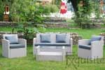Canapea cu fotolii pentru terasa0