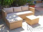 Canapea cu sezlong pentru exterior0