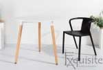 Masa pentru bucatarie din MDF alb3
