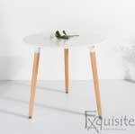 Masa pentru bucatarie din MDF alb0