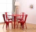 Masa din metal pentru bucatarie sau terasa5