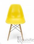Masa rotunda din mdf cu 4 scaune tip Eames 8